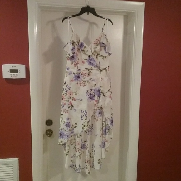 1f4332bd8 Iz Byer Other | Nwt Wht Floral Maxi Romper Juniors Final Price ...